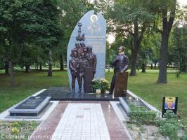 Меморіал волинянам-Героям Небесної сотні та могила Василя Мойсея