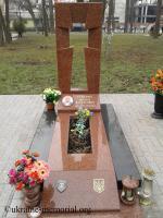 Могила Семанюка Василя Васильовича