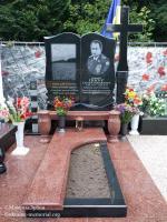 могила Пікуса Євгенія Михайловича на Центральному кладовищі міста Вінниця