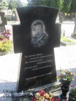 Могила солдата Степанець Андрія на Алеї Почесних громадян Центрального кладовища міста Суми.