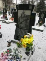 Могила майора Коханого на Алеї Почесних громадян Центрального кладовища міста Суми.
