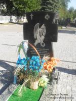 Могила сержанта Калюжного Олексія