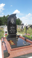 Могила майора Жука Миколи Вікторовича